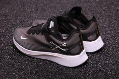 8e69f16e1e7b1 Undercover Gyakusou x Nike Zoom Fly SP Crossbones Black. Sara Kicks · Off-White  x Nike