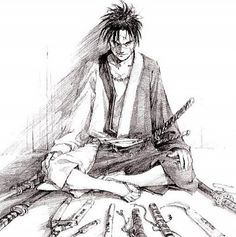 Long Running Manga Blade Of The Immortal To End This Year Comicsalliance Comic Book