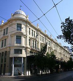 Neo Arsakeio, Stadiou street. Bauhaus, Old Greek, Athens Greece, Most Beautiful, Street View, Layout, Architecture, Live, World