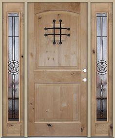 Jeld Wen Wood Jeld Wen Custom Fiberglass Door With Clavos And Speakeasy Front Doors