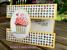 Stamp a Stack- Sweet Celebrations! – Create With Cheryl – Cheryl Hamilton Stamp a Stack- Sweet Celebrations! – Create With Cheryl – Cheryl Hamilton Kids Birthday Cards, Handmade Birthday Cards, Greeting Cards Handmade, Birthday Images, Fancy Fold Cards, Folded Cards, Birthday Board, Diy Birthday, Birthday Wishes