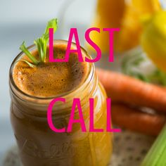 Happy Monday! Have you signed up yet?! Today is the LAST CALL to sign up and hop on board to take advantage of this amazing detox program. Do you want to loose a few pounds, clean out your system of all the junk you ate over the holidays, have more energy, control your snacky cravings, have everything lined up and in order to make this easy? Oh, and have UNLIMITED support and love from a certified nutritionist?! Sign up now before it's too late!