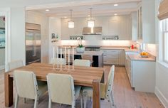 Epic photo gallery featuring hundreds of kitchen designs with hardwood flooring. All types, tones and species featured in all kitchen design styles.