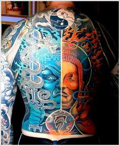 Yin yang tattoo designs on pinterest yin yang tattoos for Sparkling star tattoo