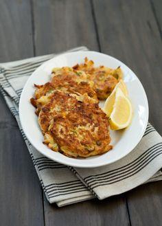 Zucchini Ricotta Fritters   - Sub Whole Milke Ricotta for vegan Ricotta
