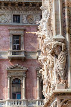 Milano | Particolare facciata Duomo | Lorenzoclick | Flickr
