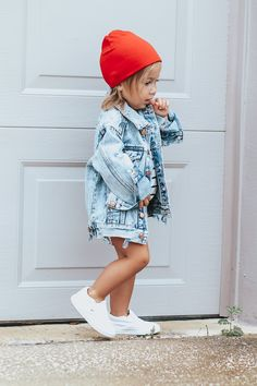 Tomboy Baby Girl, Baby Girl Vans, Cute Baby Girl Outfits, Kids Outfits Girls, Cute Outfits For Kids, Toddler Girl Outfits, Cute Kids Fashion, Little Boy Fashion, Baby Girl Fashion