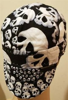 8bac6571c29 black skull welding hat is a dead mans party