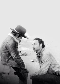Andrew Lincoln is so sexy.