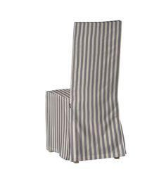 Sukienka na krzesło Börje bez wiązań krzesło Börje w kolekcji Quadro, tkanina: 136-02