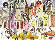 NYC 11  Fashion Night Out 5th Avenue sponsored by Swarovski Flagship store