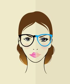 How to apply makeup for people with glasses