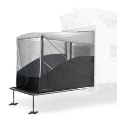 Dometic Large Xtend A Room - Awnings Rooms, Screens & Extensions - Outdoor Living - RV Lifestyle Enclosed Trailer Camper, Cargo Trailer Camper Conversion, Toy Hauler Camper, Cargo Trailers, Utility Trailer, Camper Trailers, Offroad Camper, Box Trailer, Teardrop Trailer
