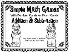 Simple Math Games: Multiplication and Division Games Distance Learning Subtraction Games, Multiplication Games, Multiplication And Division, Addition And Subtraction, Kindergarten Math Games, Math 5, Math Teacher, Teacher Stuff, Division Games