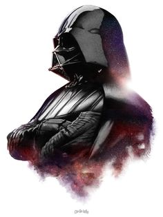 Vader  Created by Jayson Weidel  For Planet Pulp's 3rd Annual Star Wars Art Show  Website || DeviantArt
