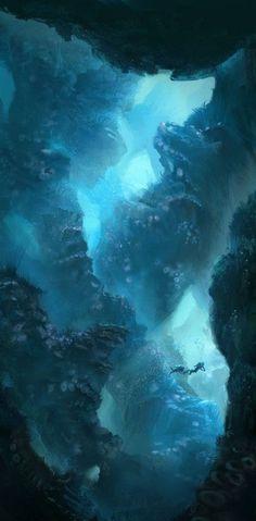 Underwater by Clara Moon