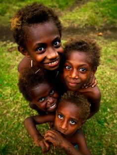 Vanuatu the happiest people on the planet & its a fact...