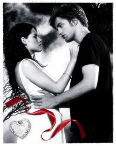 Bella and Edward...Twilight digital art.