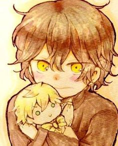 Little Gil and Doll Oz