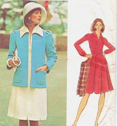 Vintage 70s Vogue Couturier Sewing Pattern 2830 by CloesCloset, $47.00