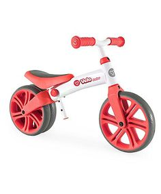 Yvolution Y Velo Junior Balance Bike - Red | child bikes & bike seats | ELC