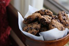 A heart-healthy chocolate chip cookie, low total and saturated fat, low salt, no refined sugar, all whole wheat flour. Possible? Absolutely!