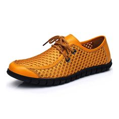Men Breathable Mesh Casual Lace Up Oxford  Worldwide delivery. Original best quality product for 70% of it's real price. Hurry up, buying it is extra profitable, because we have good production sources. 1 day products dispatch from warehouse. Fast & reliable shipment (7-25 business...