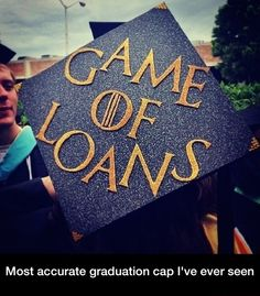 Most accurate graduation cap I've ever seen / iFunny :) Funny Graduation Caps, College Graduation, Letters From Home, Top 20 Funniest, Dog Day Afternoon, Happy Cartoon, Normal Life, Photos Of The Week, Funny Texts