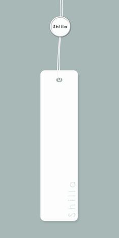 Shilla Swing Tag Design White Option 2