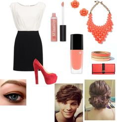 """Date with Louis Tomlinson"" by mahez01 on Polyvore"