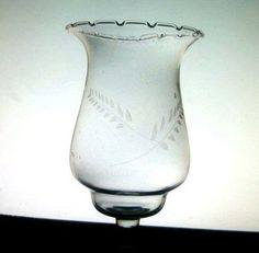 Home Interiors Peg Votive Holder Etched Wheat Flared Brand: Home Interiors / Homco Height: Approx 5.5 inches (including stem) Width: 3 3/8 inches Color: Clear Material: Glass Sample Photo No: 102  This style comes in two sizes.