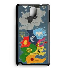Map Game Of Thrones 1 Samsung Galaxy Note 5 Case