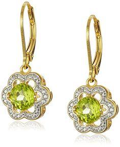 Kemstone Gold Plated Colorful Cubic Zirconia Leverback Dangle Earrings Women Jewelry UgAiiiN