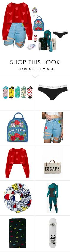 """""""2.19.17"""" by alamort-rcm ❤ liked on Polyvore featuring Topshop, Skinnydip, adidas Originals, The Ragged Priest, SCENERY, Hurley, Maui and Sons and Enjoi"""