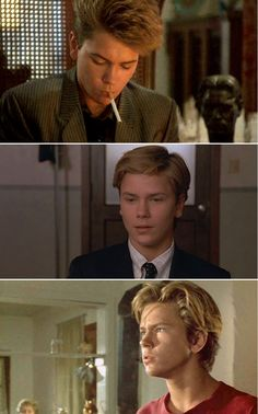 A Night in the Life of Jimmy Reardon (1988) as Jimmy Reardon + Little Nikita (1988) as Jeff Grant + Running on Empty (1988) as Danny Pope (all characters played by River in films)
