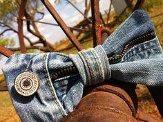 """Zip Me Up"" - bow tie- $35      Chasen Hunter Designs"