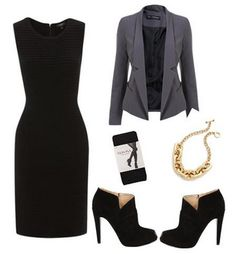 Ideal work outfit. The jacket and shoes are utterly flawless!