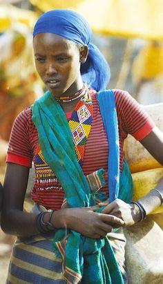 Oromo woman of Ethiopia