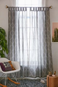 Rideau de fenêtre Sticks + Stone 4040 Locust