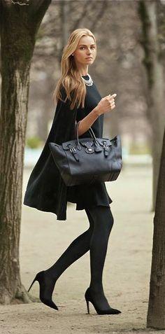 Black on black..