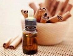 Óleo essencial de canela Para elaborar este óleo essencial caseiro precisará reunir canela em pau, azeite de oliva virgem e um frasco de vidro com tampa.