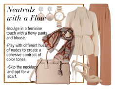 Designer Clothes, Shoes & Bags for Women Flowy Pants, Style Ideas, Jimmy Choo, Polyvore Fashion, Scarves, Contrast, Kate Spade, Feminine, Create