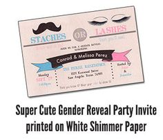 Everyone is sure to comment on this super-cute invitation!    This listing includes your CUSTOM INVITATION DESIGNED and PRINTED. You will