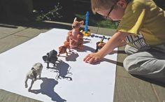 Odrysowywanie Cieni - zabawa motoryczna - Moje Dzieci Kreatywnie Preschool Crafts, Diy Crafts For Kids, Fun Crafts, Infant Activities, Activities For Kids, Classroom Tree, Carnival Birthday Parties, Kindergarten Fun, Montessori Materials