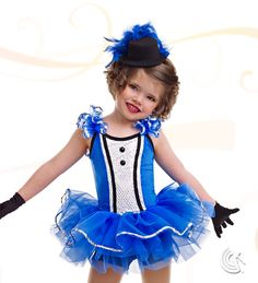 Curtain Call Costumes® - Chances Are Kids or baby tap dance costume