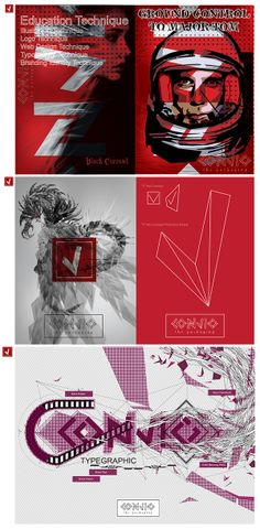 MAJOR TOM BRANDING : CONVIG IDENTITY by aed abit contemporary vignette, via Behance