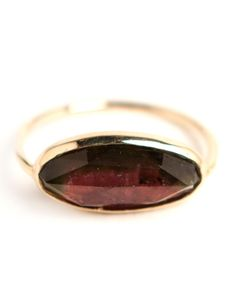 Kathryn Bentley / Tourmaline Slice Ring