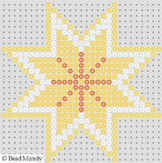 bead patterns | Christmas Hama Bead Wall Decorations