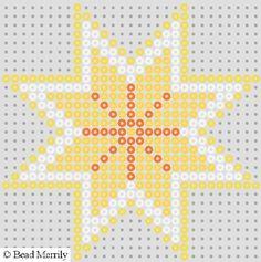 bead patterns | Christmas Hama Bead Wall Decorations