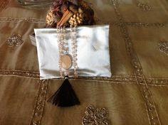 Collana lunga nappina nera, by GIOBijoux, 28,00 € su misshobby.com